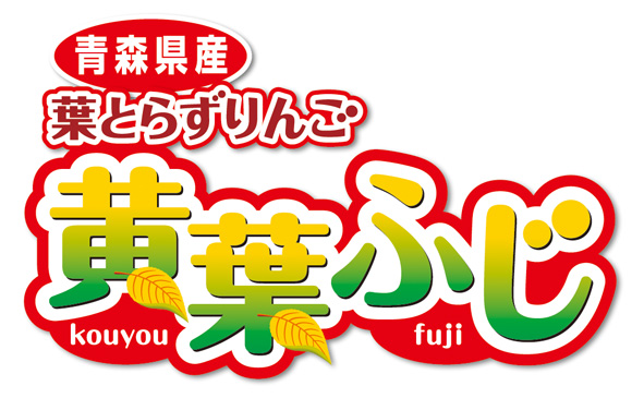 青森県産葉とらずりんご 黄葉ふじ